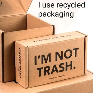 Recycled Packaging Used